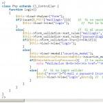 Cómo hacer un login de usuarios en PHP y CodeIgniter