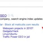 Cómo bloquear páginas en la búsqueda de Google