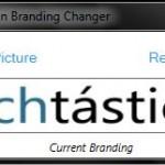 Cómo cambiar el logo inferior de la pantalla de inicio en Windows 7