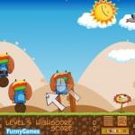 Juega un clon de Angry Birds desde Windows, Ubuntu o en línea