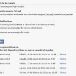Habilitar conexión HTTPS (segura) en Facebook
