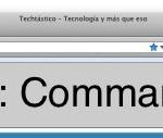 Atajos de teclado para acceder a la barra de direcciones del navegador web