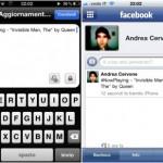 Aplicación para iPhone e iPod Touch que comparte en Facebook lo que estás escuchando