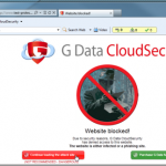 Navega seguro en Firefox e Internet Explorer con G Data CloudSecurity