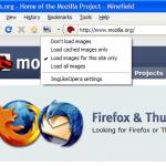 ImgLikeOpera, carga las imágenes desde el caché de Firefox