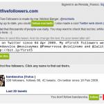 First Five Followers: viaja al pasado y averigua quiénes fueron tus primeros 5 seguidores en Twitter