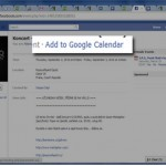 Sincroniza los eventos de Facebook con Google Calendar