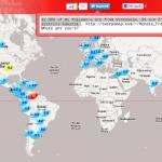 Tweepsmap: un mapa que te dice en qué parte del mundo están tus seguidores de Twitter