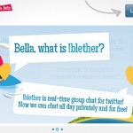 !Blether: chat privado y gratuito entre usuarios de Twitter