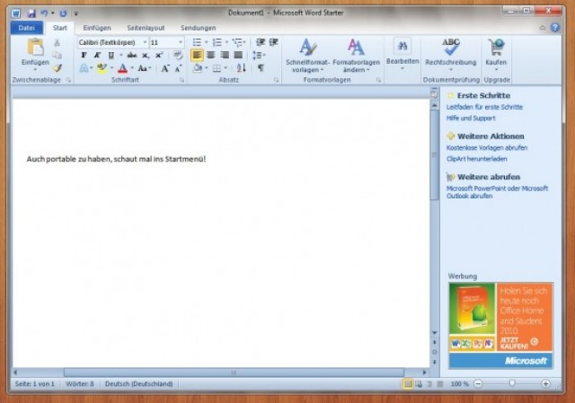 Descargar Microsoft Office Starter 2010