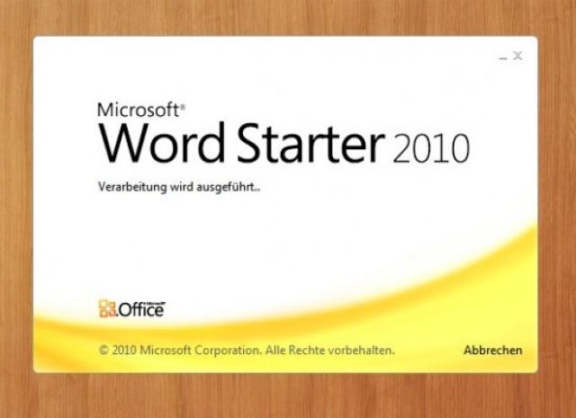 Office Starter 2010 gratis