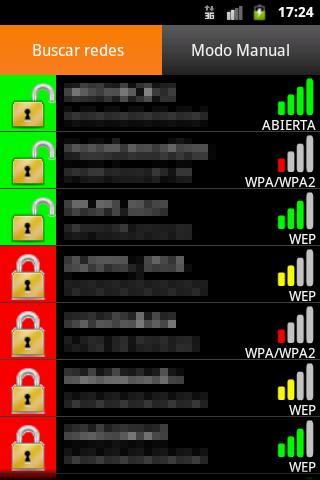 Cómo utililzar pulWifi para obtener claves WEP de redes WiFi
