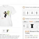 Pon tu avatar de Xbox Live en una camiseta o algún otro gadget con Cafepress
