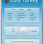 Cold Turkey para bloquear páginas web mientras trabajas
