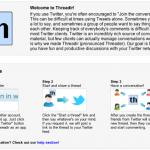 Threadir: crea hilos de conversaciones con tus seguidores o amigos de Twitter