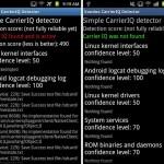 Cómo detectar si tu teléfono con Android usa Carrier IQ