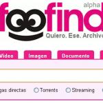 Busca y descarga cualquier archivo con Foofind
