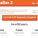 Genera plantillas en HTML 5 con Initializr
