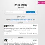 My Top Tweets: ¿cuáles han sido tus tweets más populares?