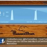 TunnelBear: VPN para ingresar a pagina restringidas por región