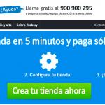 Crea tu propia tienda virtual con Mabisy y paga solo si vendes