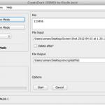 CryptoDock: Herramienta gratuita de cifrado para Mac