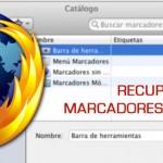 Cómo recuperar los marcadores (favoritos) eliminados accidentalmente en Firefox