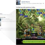 Juegos de Facebook ya se pueden probar desde las noticias