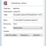 Como ejecutar CCleaner en modo silencioso con un simple clic