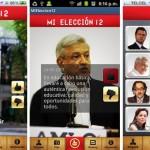 Mi Elección 12, aplicación para conocer propuestas de los candidatos a la presidencia de México