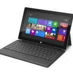 Microsoft Surface con teclado