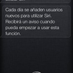 Siri no disponible en español