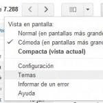 Gmail ya permite temas personalizados