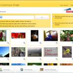 CCFinder: buscador de imágenes con licencia Creative Commons