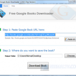 Descarga libros de Google en Windows