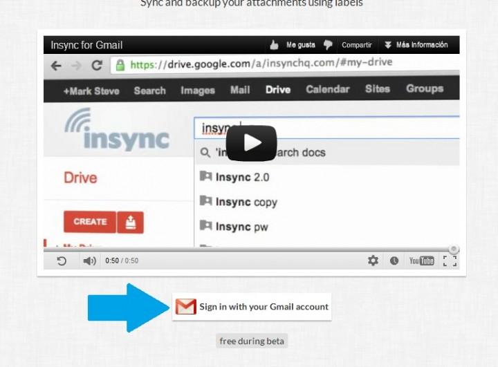 Loguearse a Gmail