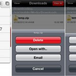 chrome download manager iPhone