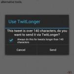 5 aplicaciones de Android para enviar tweets de más de 140 caracteres
