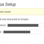 Cómo enviar posts desde WordPress a Google Plus con WPGplus