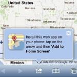 Cómo instalar Google Maps en iOS 6 y en iPhone 5