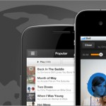 Grooveshark web para iOS y Android