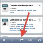 Cómo hacer accesos directos de páginas web en iPad/iPhone