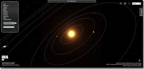 3D Solar System, o cómo explorar el sistema solar desde la
