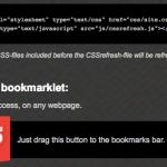CSSrefresh monitorea los archivos CSS incluidos en sus páginas