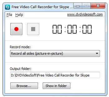 FreeVideoCallRecorderforSkype