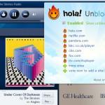 Hola Unblocker, ver y escuchar sitios bloqueados por región