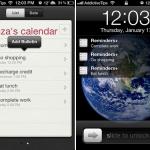 Cómo agregar recordatorios en el Lock Screen del iPhone
