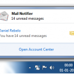 Mail Notifier, notificaciones de correos Gmail en el escritorio [Windows]