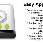 Backup Easy App Toolbox: respalda aplicaciones Android a Dropbox, Box o SkyDrive