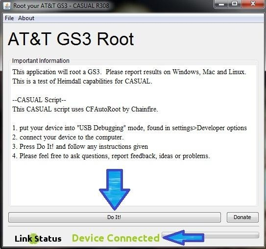 Casual root Samsung Galaxy S3